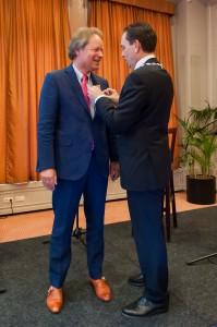 Onderscheiding Theo Kremer